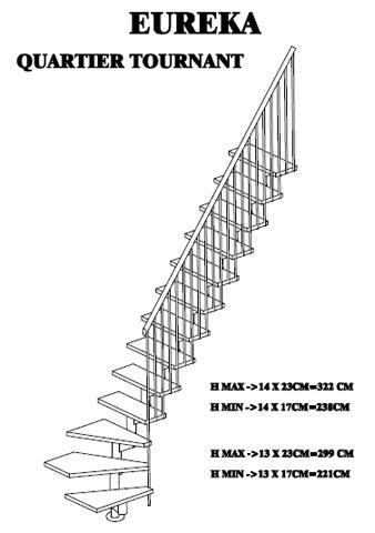 Stalen trap met houten trede for Maten trap