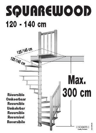 Vierkanten trap voor vierkant trapgat - De trap van de bistro ...