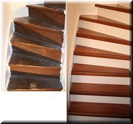 Zoldertrappen zoals houten trappen bouwpakkettrappen en doehetzelf trappen en maatwerk trappen - Renovatie houten trap ...