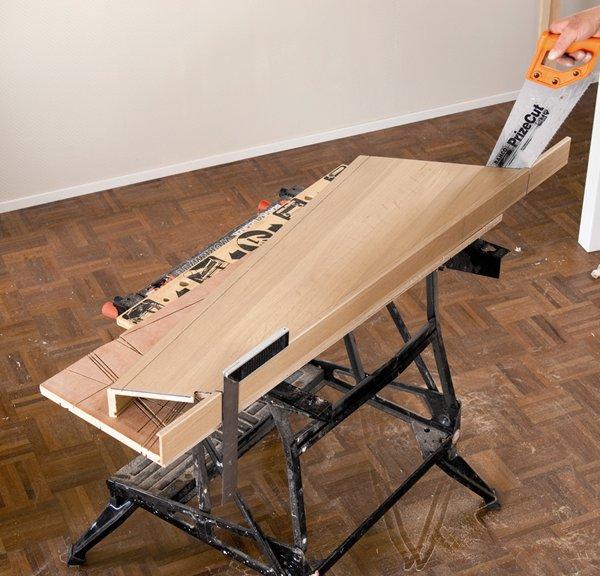 Traprenovatie met massief houten trede for Lengte trap